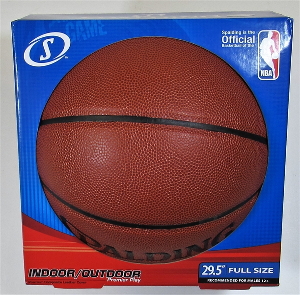 Dominique Wilkins Signed NBA Basketball - Steiner