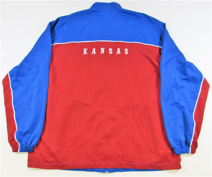 KU Basketball Game Worn Warm Up
