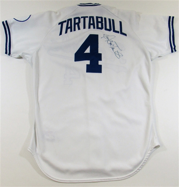 1990 Danny Tartabull Game Used & Signed Kansas City Royals Jersey