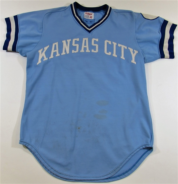 1974 Al Cowens Game Used Kansas City Royals Jersey