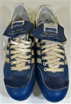 1976 Paul Splittorff Game Used Kansas City Royals Cleats