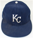 1991-92 George Brett Game Used Signed Cap