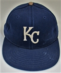 1988-89 Jim Eisenreich Game Used Kansas City Royals Cap