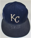 Circa 1984 Willie Wilson Game Used & Signed Kansas City Royals Cap
