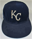 1971-75 Bruce Del Canton Game Used & Signed Kansas City Royals Cap