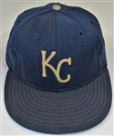 1971 Ted Abernathy Game Used Kansas City Royals Cap