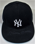 Mickey Mantle Signed NY Yankees Cap - Full JSA Letter