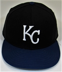 Kansas City Royals Game Used Tom Burgmeier Cap