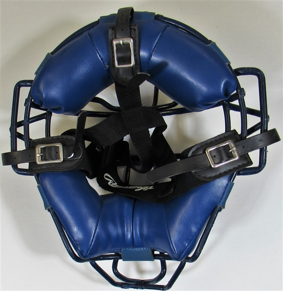 Gary Carter Game Used Catchers Mask Montreal Expos