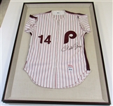Pete Rose Signed Custom Phillies Jersey-JSA