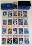George Brett PSA 8 Lot of 17 Baseball Cards