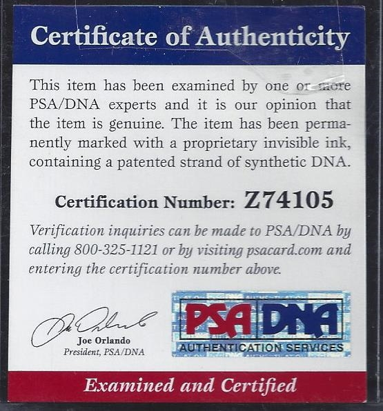 Joe Cronin Single Signed Baseball PSA/DNA Z74105