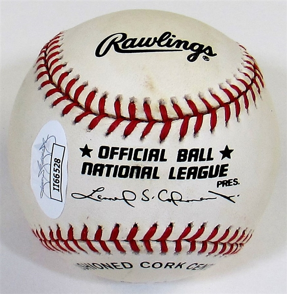 Jim Bunning Signed HOF Baseball - JSA