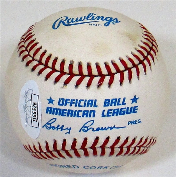 George Kell Signed Baseball - JSA