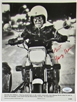 George Burns Signed Heaven on Wheels Promo Photo - JSA