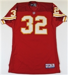 1998 Marcus Allen Game Issued  KC Chiefs Signed Jersey
