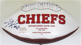 Travis Kelce Signed Chiefs Football #87