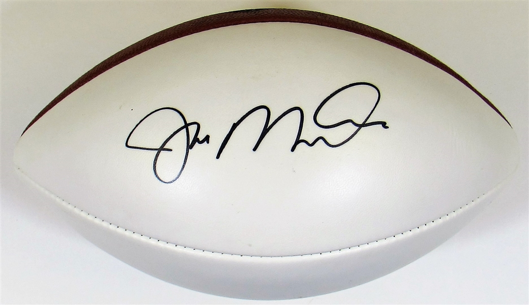 Joe Montana Signed Football - JSA