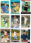 Lot of 250 Signed Baseball Cards