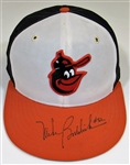 1983-85 Mike Boddicker Game Used & Signed Cap.